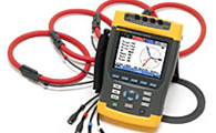 FLUKE 434/Log Three-Phase Power Analyzer