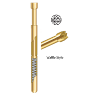 GLOBAL ENERGY INNOVATION Kelvin Probes (DoublePoint) - Waffle Style Replacement Tips
