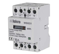 ISKRA WS 0031 Energy Meters for Rail Mounting