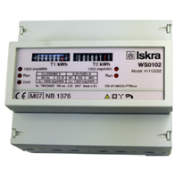 ISKRA WS 0101 Energy Meters for Rail Mounting