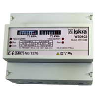 ISKRA WS 0102 Energy Meters for Rail Mounting