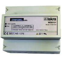 ISKRA WS 1102 Energy Meters for Rail Mounting
