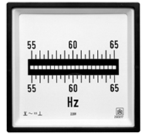 ISKRA ZQ 0317 Reed Frequency Meter