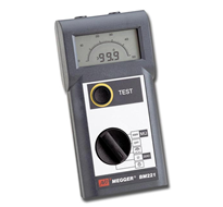 MEGGER BM220 Series Hand-held Insulation Resistance and Continuity Testers