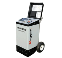 MEGGER PFL40A-2000 Portable Cable Fault Location & High Voltage Test Solution