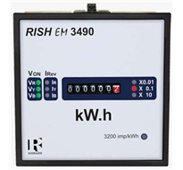 RISHABH RISH EM 3490 DIN Panel Mounted Kilowatt Hour Energy Meter