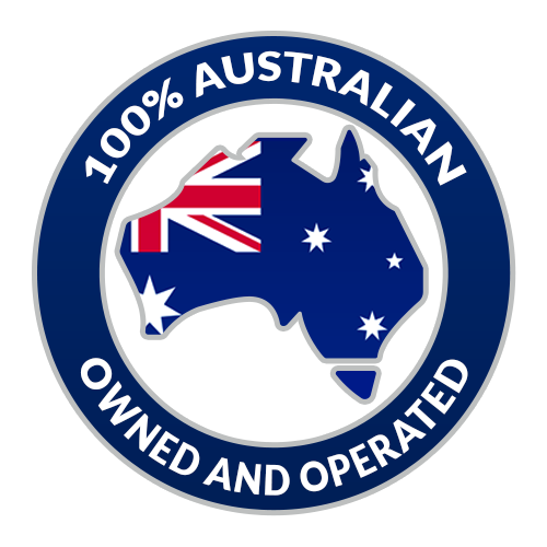 100 Percent Australian Owned and Operated